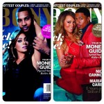 Mariah Carey, Nick Cannon, Lala Anthony et Carmelo Anthony à la une de Ebony Magazine