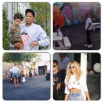 Beyonce et Jay-Z ont célébré les deux ans de Blue Ivy