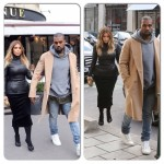 Kanye West s'amuse avec Kim Kardashian après la Paris Fashion Week