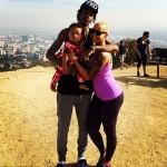 Amber rose et Wiz Khalifa en ballade au Runyon Canyon