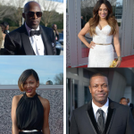 Meagan Good, Joe, Jaheim, Melissa Desousa, Alfre Woodard aux Trumpet Awards
