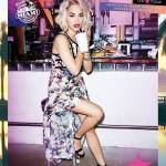 Rita Ora au coeur de la campagne Material Girl