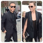 John Legend et  Chrissy Teigen à la New York Fashion Week