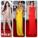 Rita Ora, Iggy et d'autres sur le tapis rouge des Brit Awards