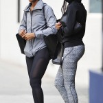 Kelly Rowland Out And About In Beverly Hills