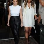 Ciara se joint à Kim Kardashian pour le tournage de son show