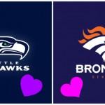 La finale du NFL Super Bowl XLVIII entre Seattle Seahawks et Denver Broncos