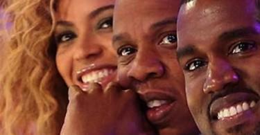 Beyonce, Jay-Z et Kanye West