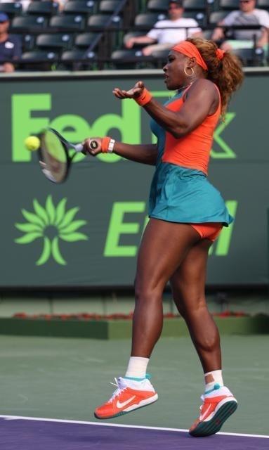 Serena Williams contre Garcia