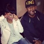 Keyshia Cole s'est rendue au studio avec R. Kelly
