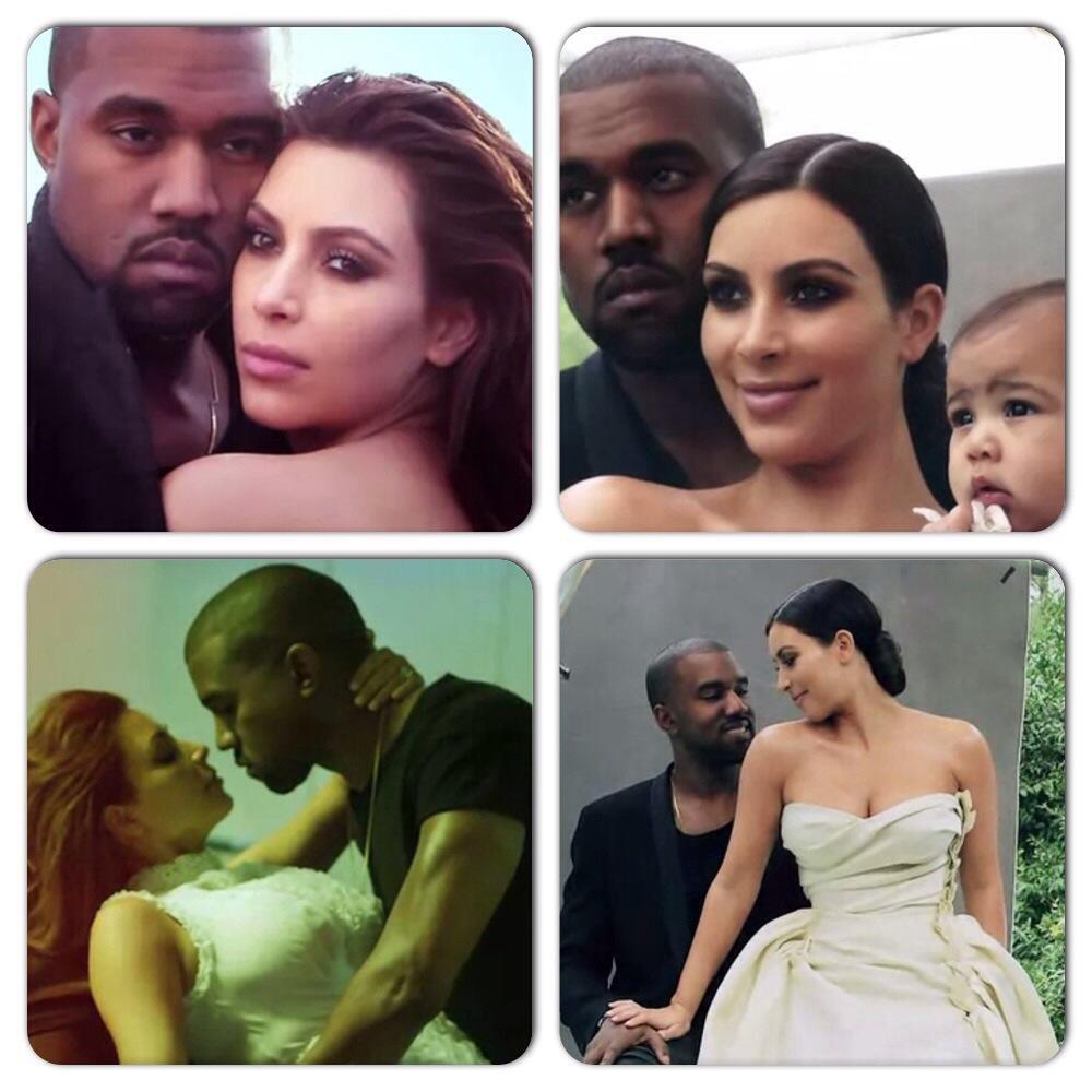 Kim Kardashian, Kanye West et North West posent pour Vogue Magazine