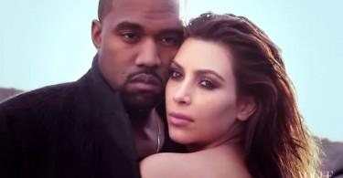 Kim Kardashian et Kanye West pour Vogue Magazine