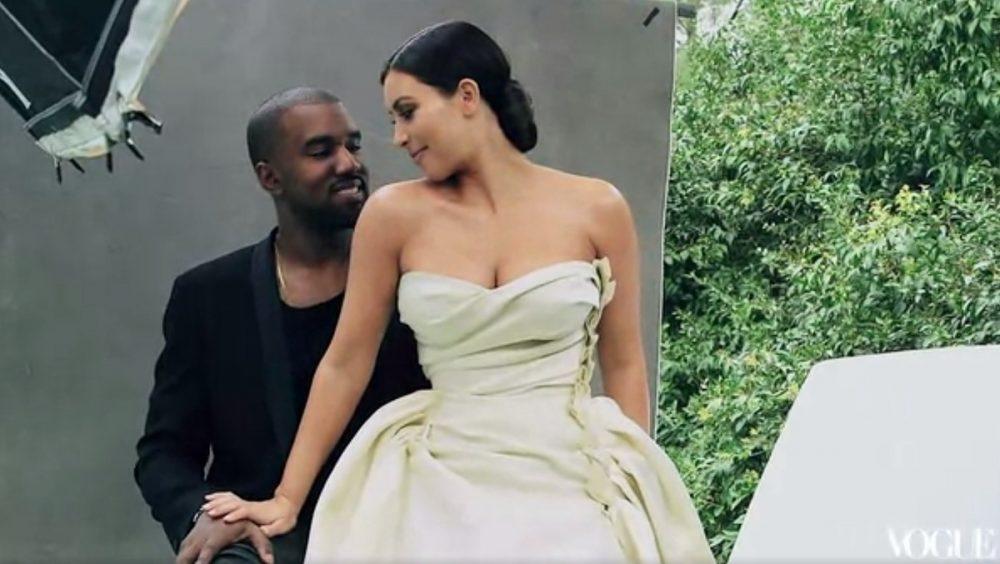 Kim Kardashian et Kanye West - Vogue Magazine