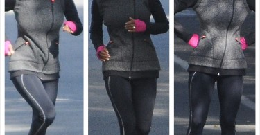 Halle Berry fait son jogging
