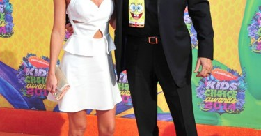 Hayley-Roberts-et-David-Hasselhoff-kids-choice-awards-2014