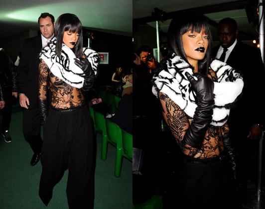 Rihanna-Paris-Fashion-Week-jean-paul-gaultier