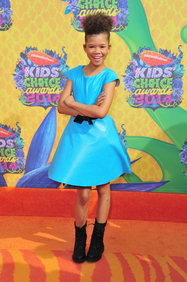 Storm Reid Kids Choice Awards 2014