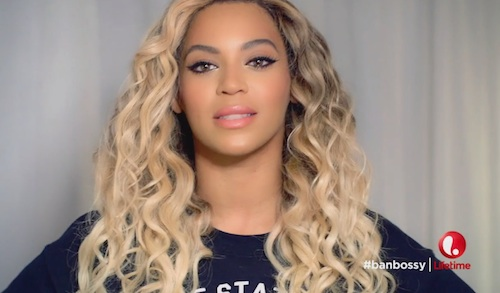 Beyonce wants girls to be bossy