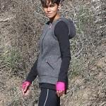 Halle Berry tourne une scène de son nouveau show TV