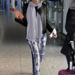 Naomie Harris au naturel à son arrivée à Londres