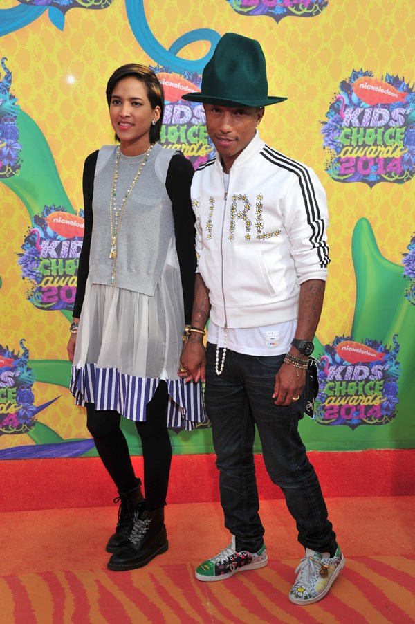 pharrell-williams-helen-lasichanh-kids-choice-awards-2014