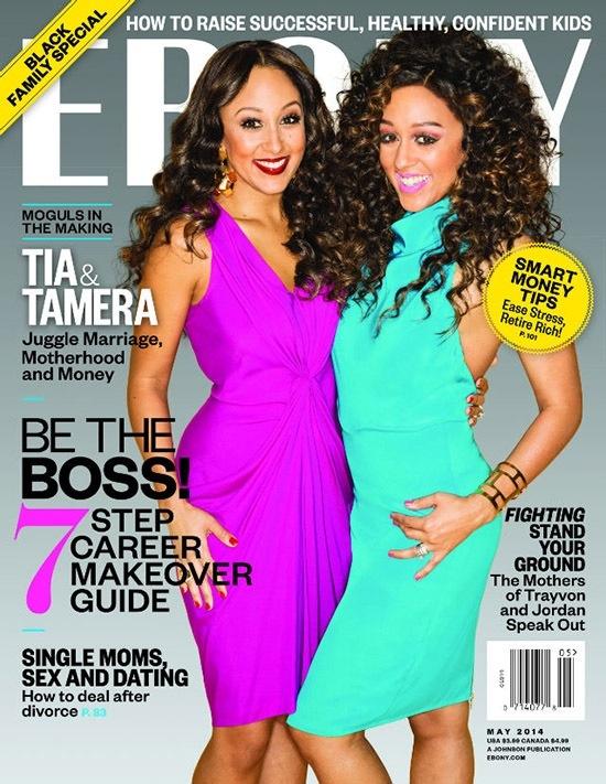 Tia et Tamera Mowry Ebony Magazine