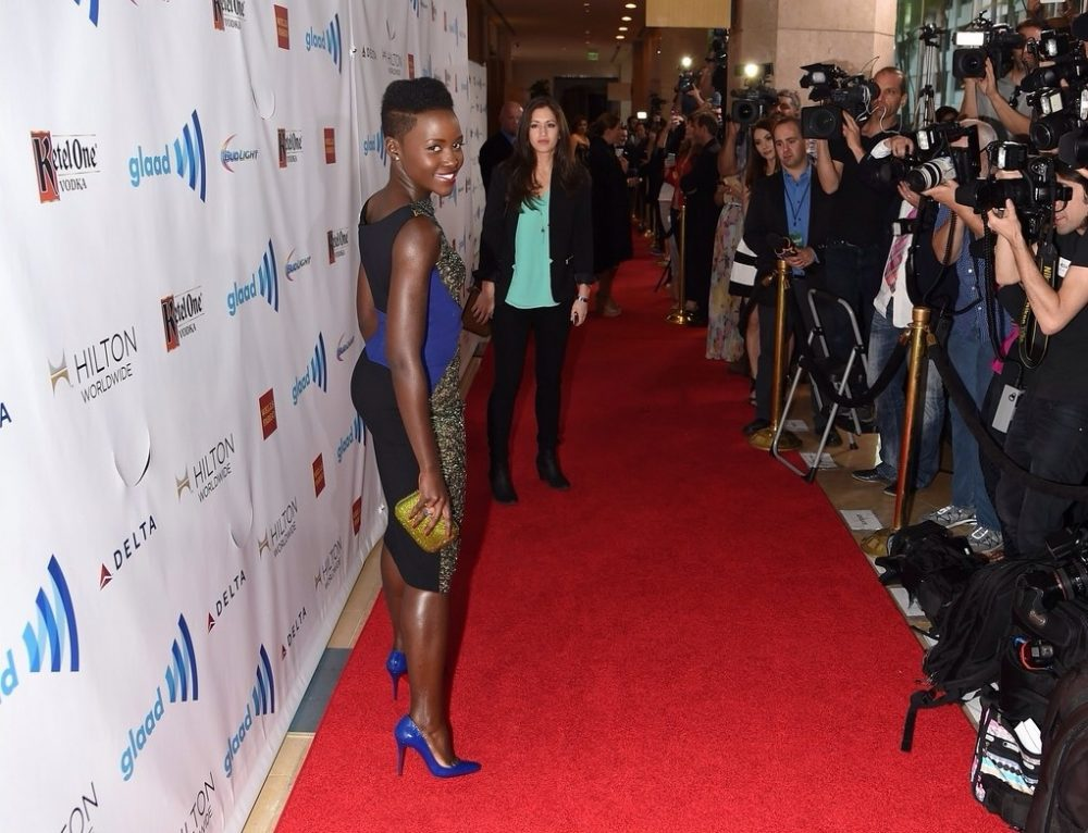 Lupita Nyong'o Glaad Media Awards 2014