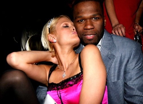 50 Cent et Paris Hilton