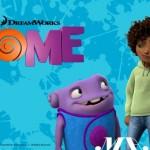 Rihanna à la une du film Home