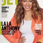 Lala Anthony fait la une de JET Magazine