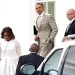 Michelle et Barack Obama célèbrent Pâques