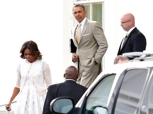 Michelle et Barack Obama célèbrent Pâques à la Maison Blanche