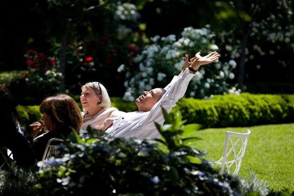 Michelle Obama Pâques 2014