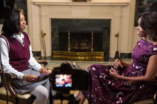 Michelle Obama Pâques
