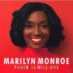 Pharrell Williams promeut son nouveau single Marilyn Monroe