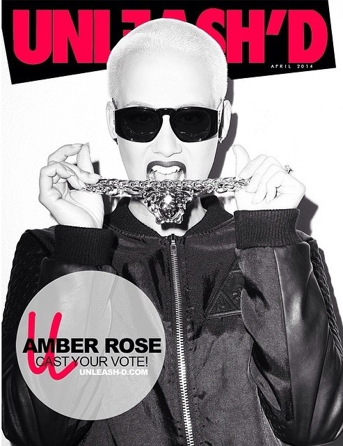 Amber Rose Unleash Magazine