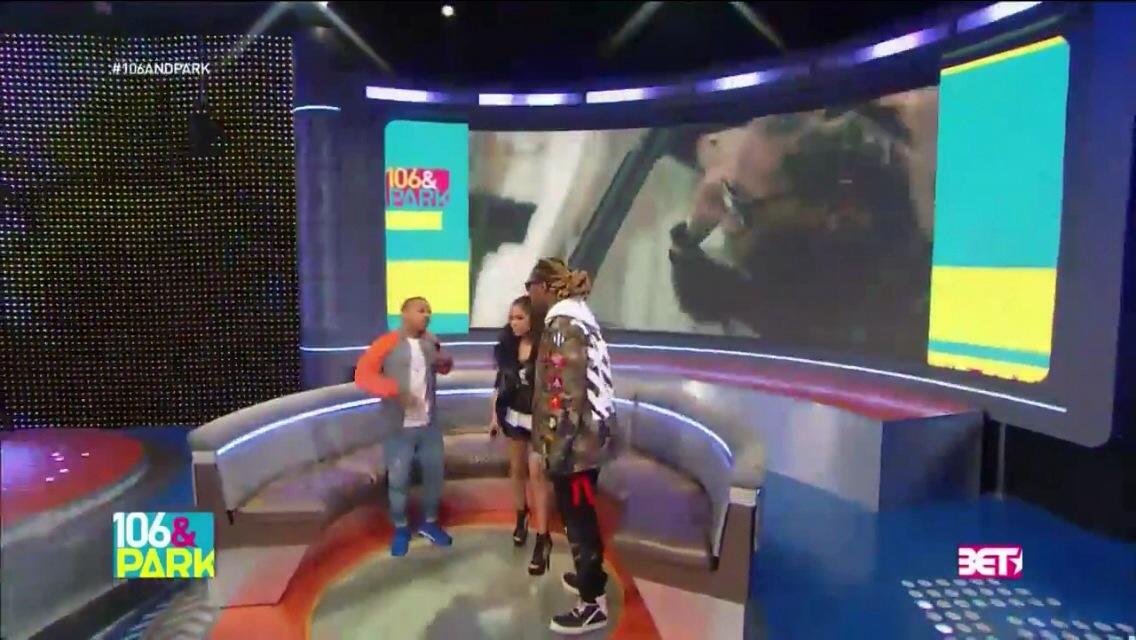 Bow Wow et Keisha Chante accueillent Future à 106 & Park