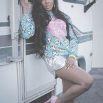 Angela Simmons pose pour Culture Starved