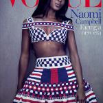 Naomi Campbell fait la une de Vogue en Australie