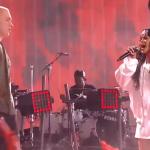 Rihanna et Eminem ont mis le feu sur la scène des MTV Movie Awards 2014