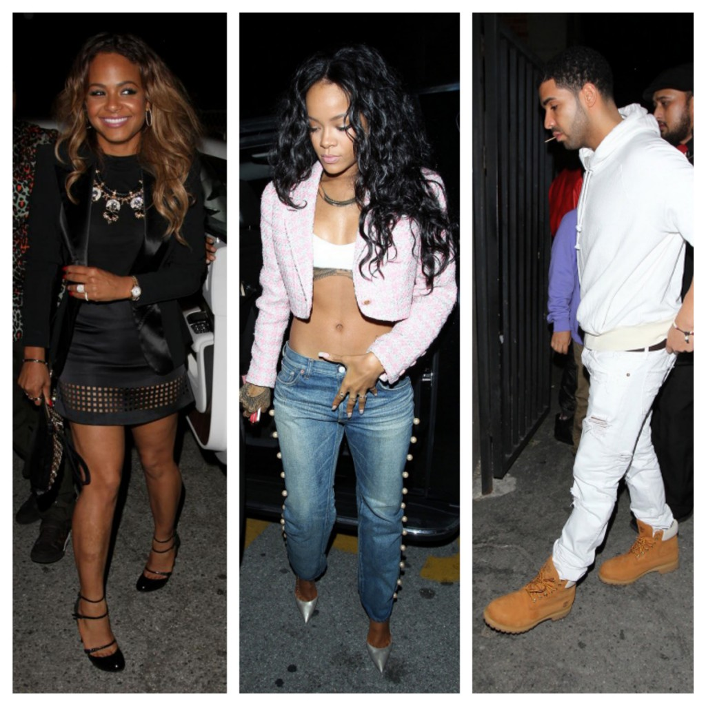 drake dating christina milian Lil wayne and christina milian started tongues wagging when they  with  helping drake and christina get deals with lil wayne's record label,.