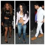 Rihanna, Drake, Christina Milian et d'autres font la fête au SupperClub
