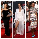 MTV Movies Awards 2014 – Le tapis rouge… Lupita Nyong'o, Rihanna, Nicki Minaj