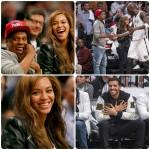 Beyonce, Jay-Z et Drake au match 6 des Brooklyn Nets contre les Raptors de Toronto