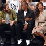 Beyonce toute classe lors du match des Brooklyn Nets contre Miami Nets