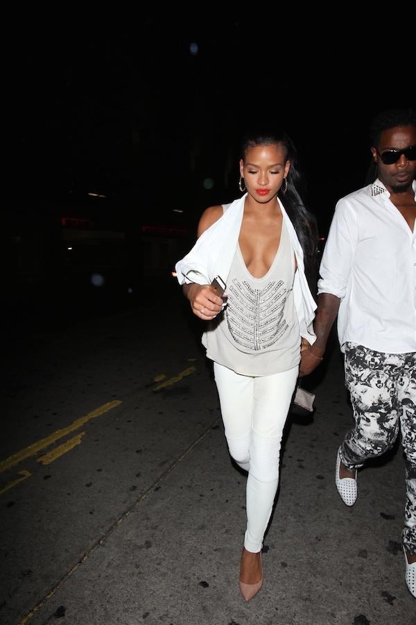 Cassie Ventura est allée faire la fête avec Karrueche Tran au LURE Nightclub à Hollywood