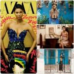 Chanel Iman fait la une de Bazaar Magazine