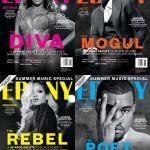 EBONY Magazine rend hommage à Beyonce, Jay Z, Rihanna et Kanye West