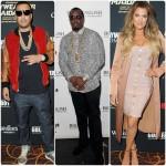 French Montana, Khloe Kardashian, Diddy, Meek Mill, Kendrick Lamar font la fête à Las Vegas