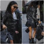 Gabrielle Union toute sexy, sans maquille, arrive à son hôtel à New York
